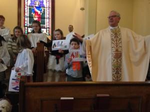 Easter morning at St. John's