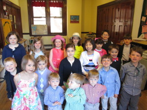Some members of our Godly Play Program on Easter Sunday