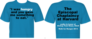 hunger walk tshirt.2014