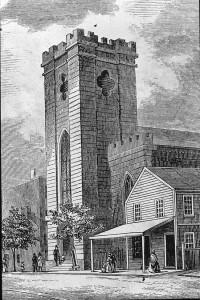A 19th century print of St. John's